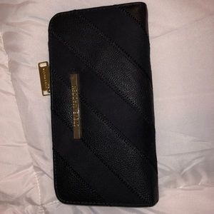 Black wallet and used once